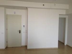 קיר הכניסה לפני
