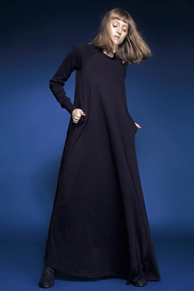 ה-שמלה בעיצובה של אננוקו. באדיבות קרינה.