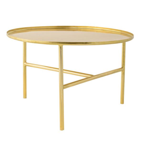 סוהו- שולחן צד מוזהב של Bloomingville.