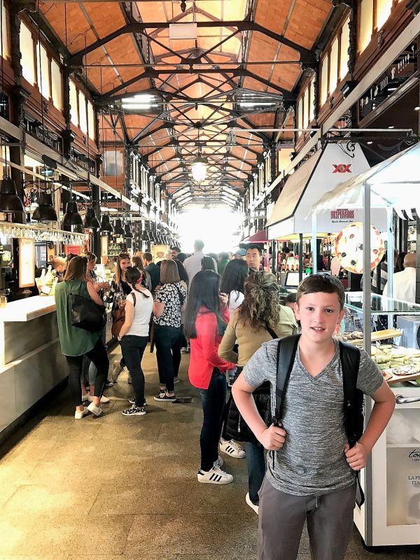 שוק SAN MIGUEL מדריד