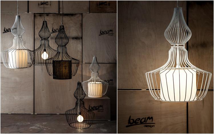גוף תאורה תעשייתי של סטודיו BEAM.  אפשר להזמין בצבע בו חשקה נפשכם.