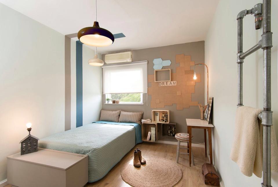 החדר החדש של  דור. עיצוב: לימור אורן, רויטל קורן ורוית רוד. צילום: תומר כהן.