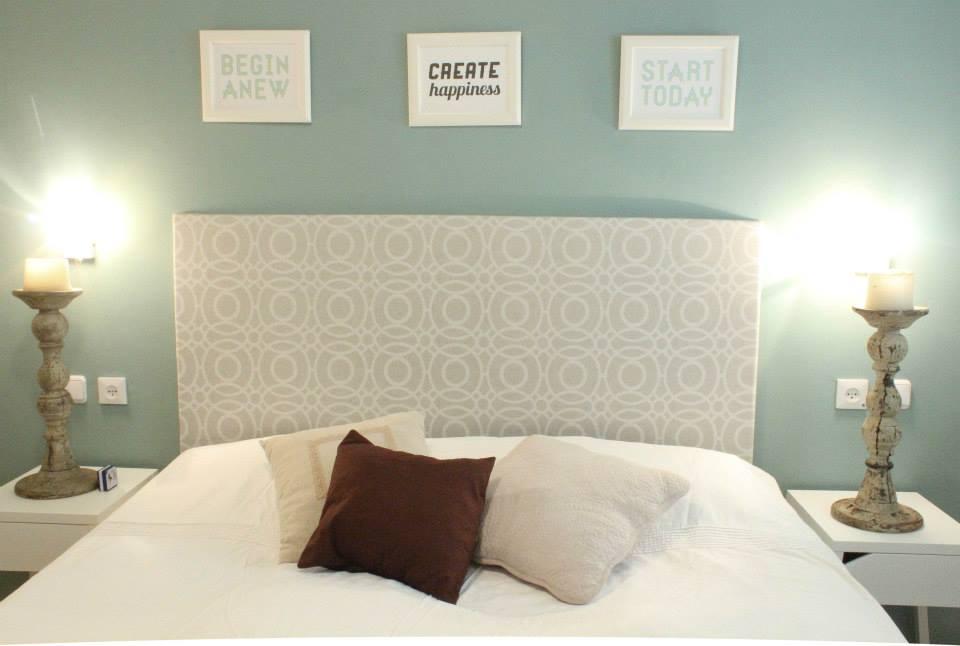 חדר השינה אחרי. עיצוב וצילום: רוית רוד
