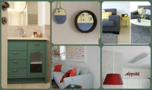 שימוש בצבע עז בצורה נכונה ומבלי להמאיס. עיצובים שונים: רוית רוד סטודיו להלבשת הבית. צילום: רוית רוד