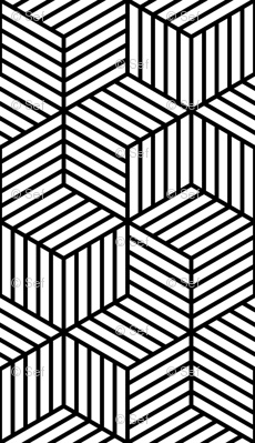 הדפסים גיאומטריים מורכבים ועמוקים יותר. www.spoonflower.co.il