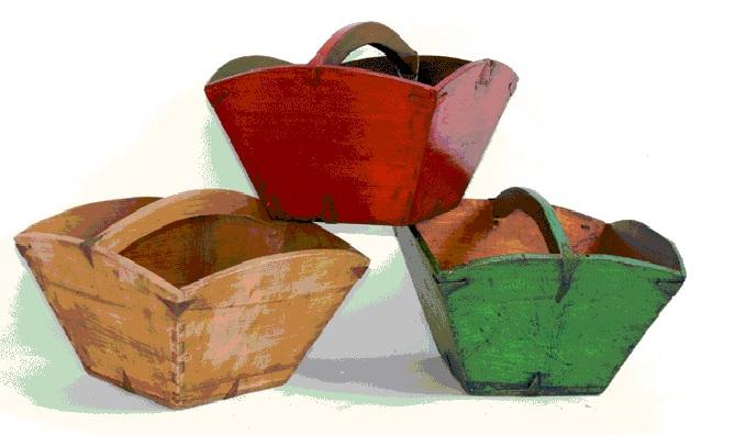 טנא סוקולנטים כפרי וצבעוני של ג'ייקוב טווינה