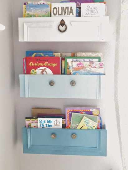 ספריית מגירה. לצאת מהקופסה. www.hometalk.com