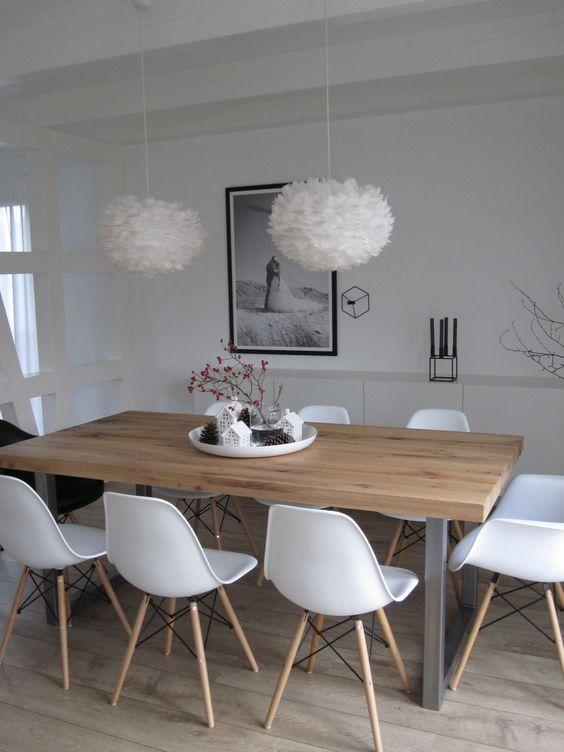 מעברים נוחים בין הקיר לשולחן, כסאות נכנסים בנוחות, מרווחים בין כסא לכסא. שיא הפונקצינליות בפינת האוכל. www.nordicalm.com