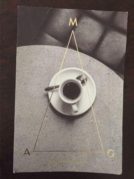 הקפה הכי טעים בעיר. MAG