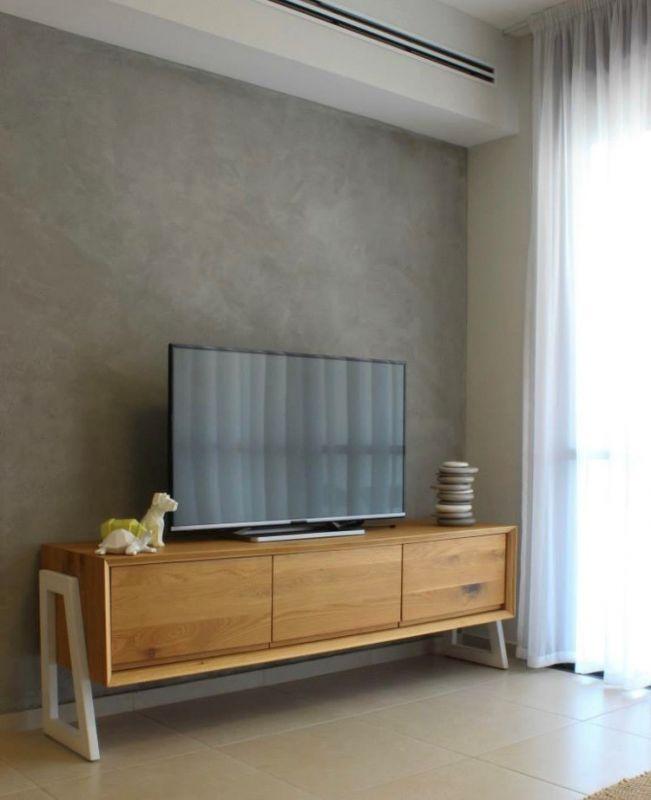 צבע אחר על הקיר, צבע טיח, יישום טיח, חיפוי קיר או טפט שהוא לא דמוי... עיצוב וצילום: רוית רוד