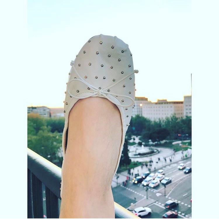 נעלי הבובה שלי. ZARA מדריד